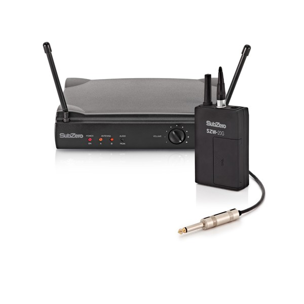 SubZero SZW-20G Wireless Guitar System, 864.5MHz