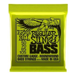Ernie Ball Regular Slinky Nickel Bass Guitar Strings 50-105