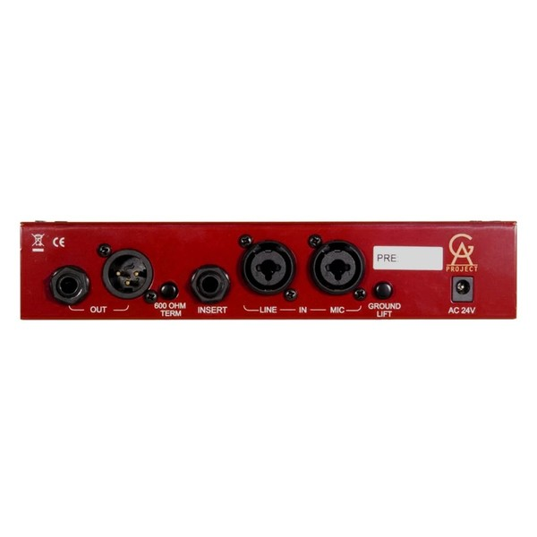 Golden Age Project PRE-73 DLX Microphone Preamp - Rear