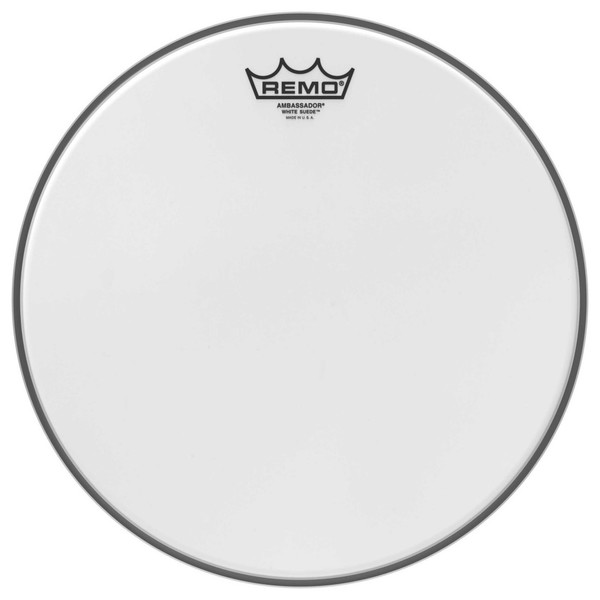 Remo Ambassador White Suede 18'' Drum Head