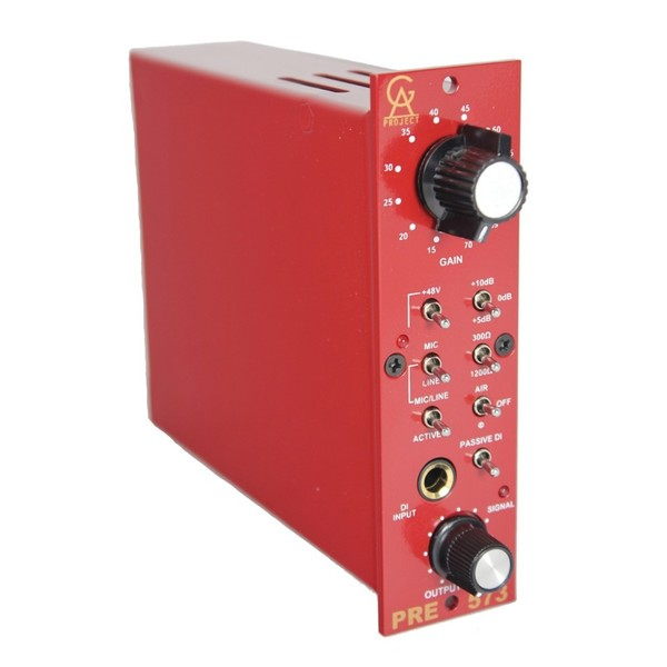 Golden Age PRE-573 MKII Plus Microphone Preamp - Angled