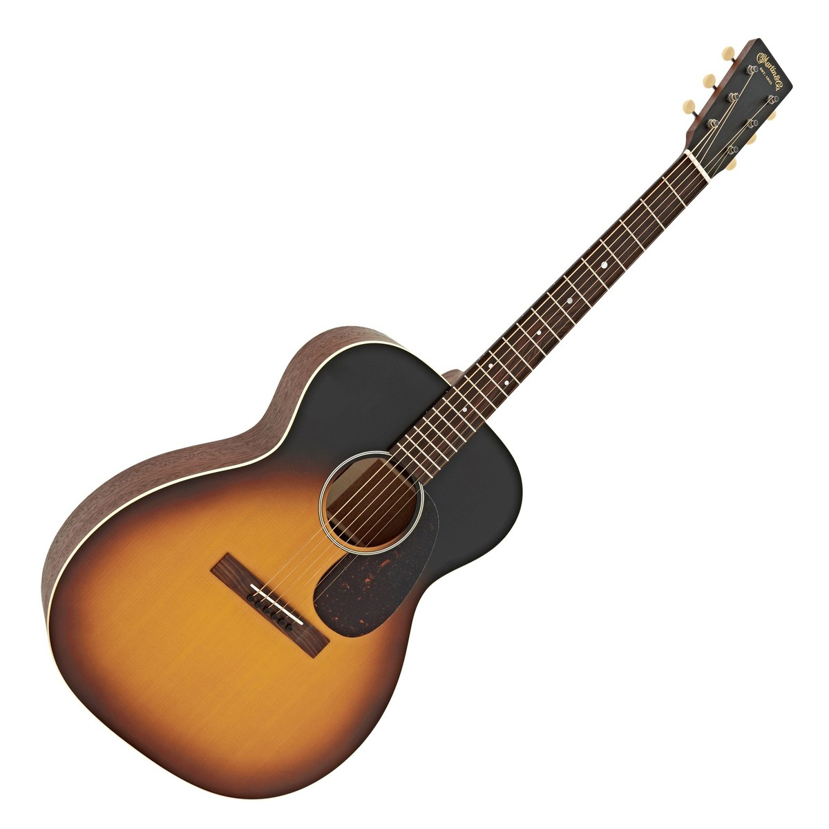 Click to view product details and reviews for Martin 000 17e Electro Acoustic Guitar Whiskey Sunset Box Opened.