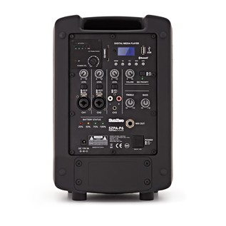 SubZero SZPA-P6 Portable PA with Digital Media Player + Wireless Mic
