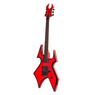 B.C Rich Warbeast MK3 Electric Guitar, Red Devil - angled