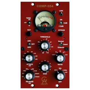 Golden Age Project COMP-554 Plus, 500-Series Compressor - Front