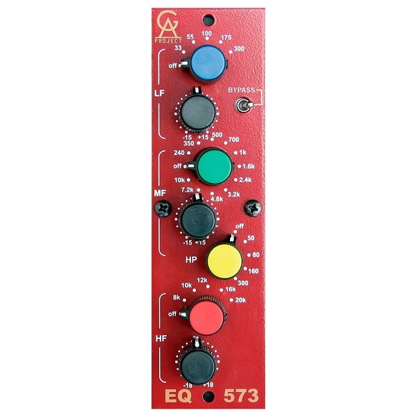 Golden Age Project EQ-573 - Front