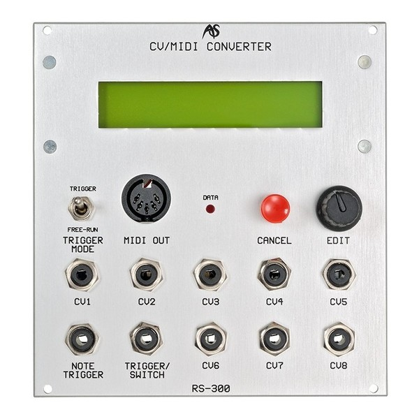 Analogue Systems RS-300 CV to MIDI Converter - Main