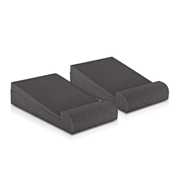 AcouFoam 5 Studio Monitor Isolation Pads by Gear4music, Pair - Front