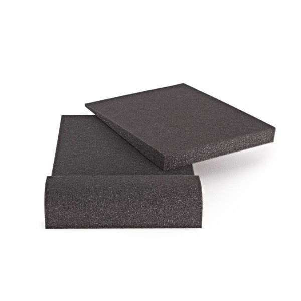 AcouFoam 5 Studio Monitor Isolation Pads by Gear4music, Pair - Top