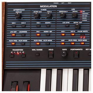 Oberheim OB-6 6-Voice Analog Synthesizer Close Up