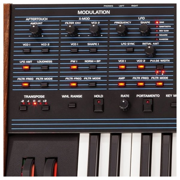 Oberheim OB-6 6-Voice Analog Synthesizer Close Up