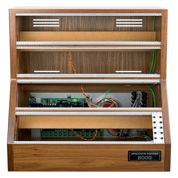 Analogue Systems RS8500 Walnut Cabinet - Front