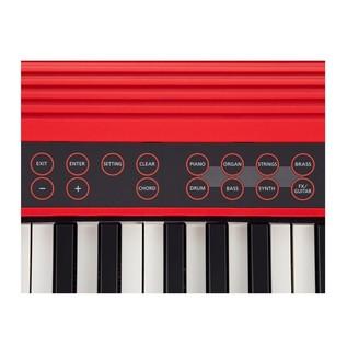 Roland Go:Keys Music Creation Keyboard, Red
