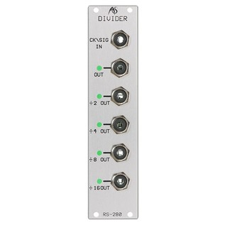 Analogue Systems RS-280 Audio and Trigger Clock Divider - Main