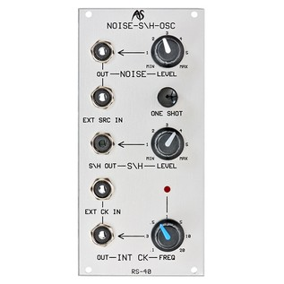 Analogue Systems RS-40 Noise, Sample+Hold, Clock Module - Front