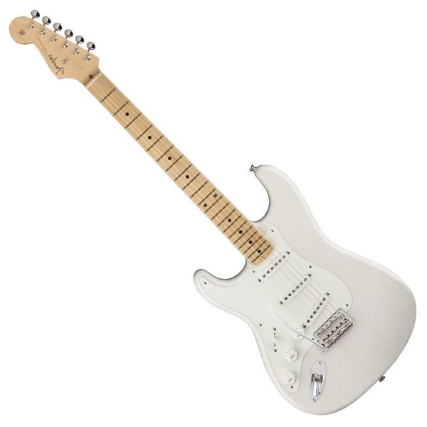 Fender American Original '50s Stratocaster LH MN, White Blonde Front View