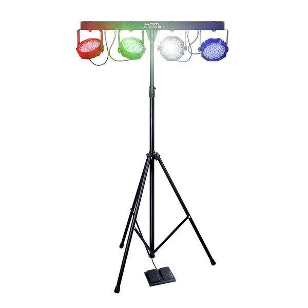 KAM LED PartyBar V2 Portable Lighting Package