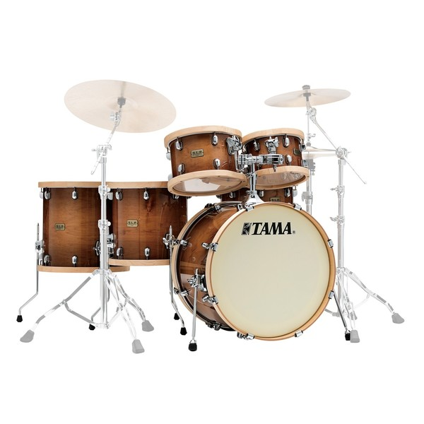 Tama SLP Studio Maple 22'' 5pc Shell Pack, Gloss Sienna