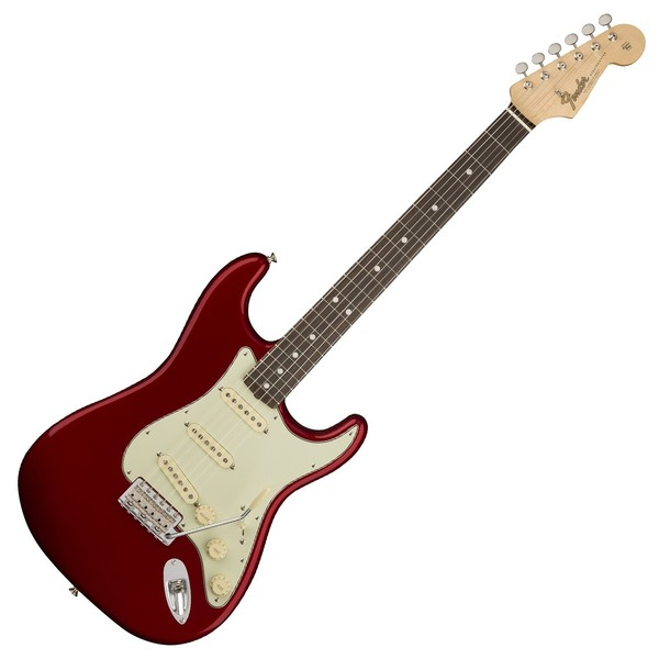 Fender American Original '60s Stratocaster RW, Candy Apple Red Front View