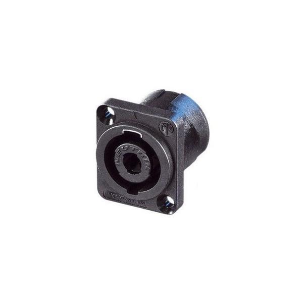 Neutrik NL4MP 4-Pole Male SpeakON Chassis Connector 1
