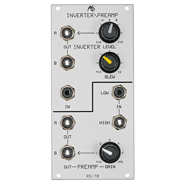 Analogue Systems RS-70 Inverter/Preamp - Front