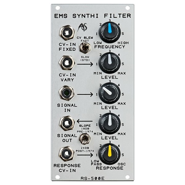 Analogue Systems RS-500e EMS Filter - Main