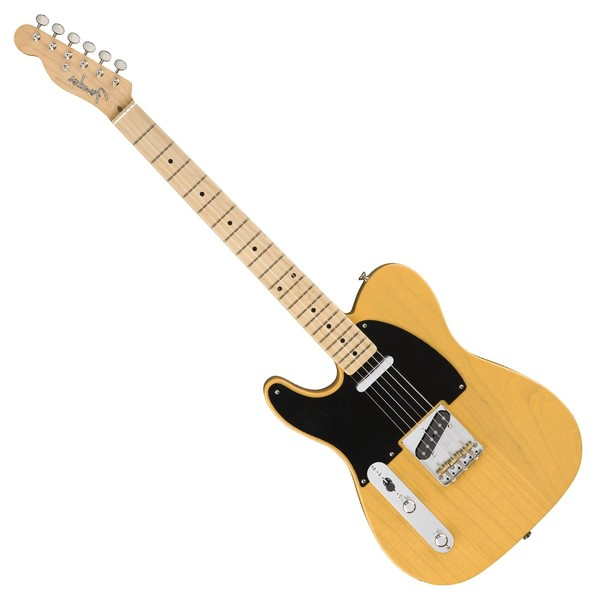 Fender American Original '50s Telecaster LH MN, Butterscotch Blonde Front View