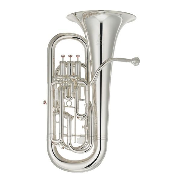 Yamaha YEP642II Neo Professional Trigger Euphonium, Silver