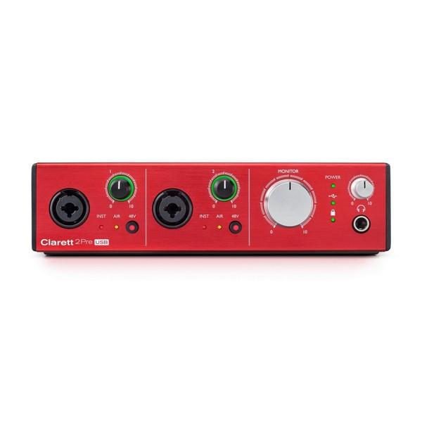 Focusrite Clarett 2Pre USB Audio Interface - Front
