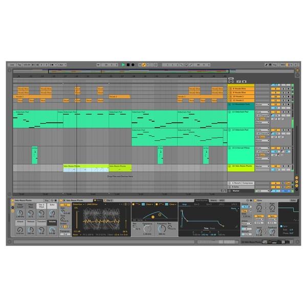 Ableton Live 10 Suite - Arrangement (Clips)