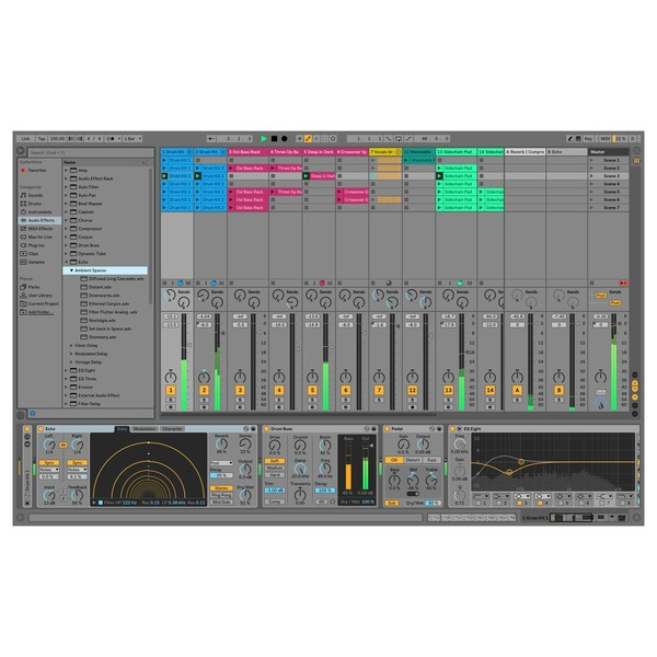 Ableton Live 10 Suite - New Device Echo