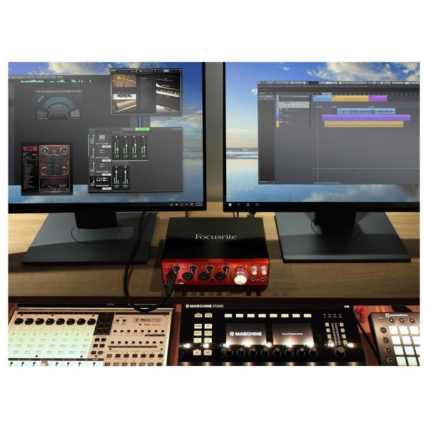 Focusrite Clarett 4Pre USB Audio Interface - Lifestyle