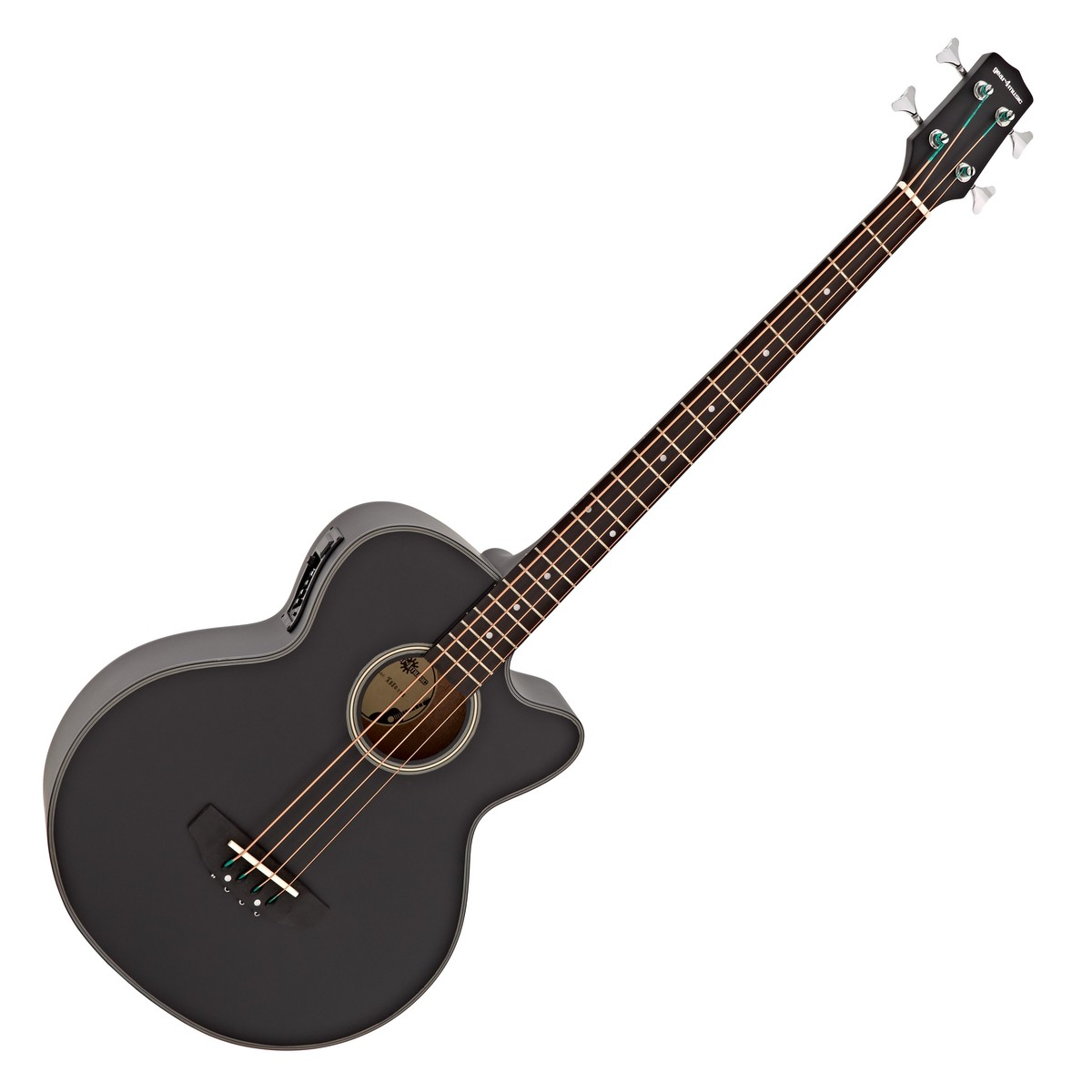 electro acoustic bass guitar by gear4music black b stock at gear4music. Black Bedroom Furniture Sets. Home Design Ideas