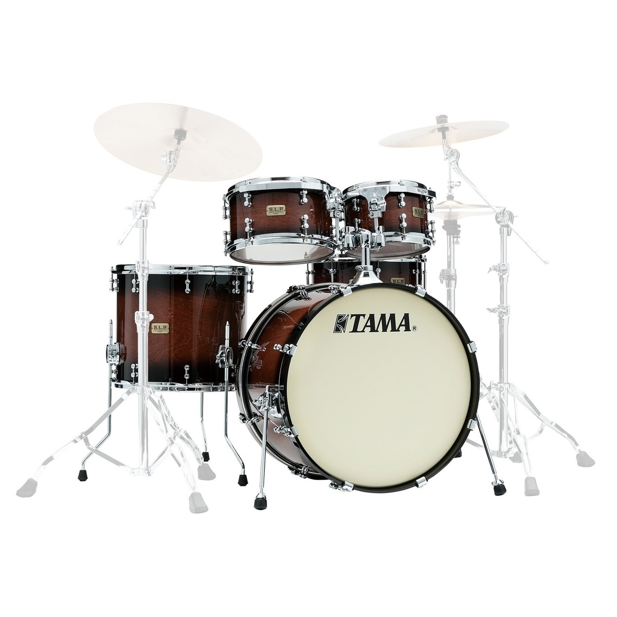 Click to view product details and reviews for Tama Slp Dynamic Kapur 22 4pc Shell Pack Gloss Black Kapur Burst.