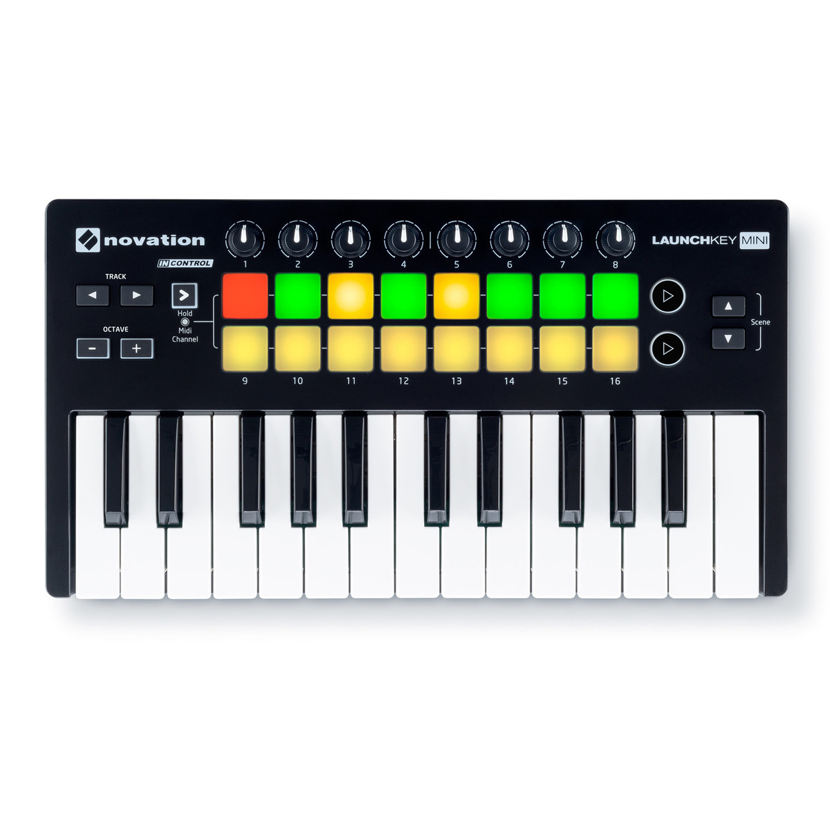 how to play a novation launch key