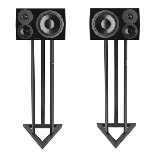 Dynaudio LYD 48 Black with Stands, Pair - Bundle