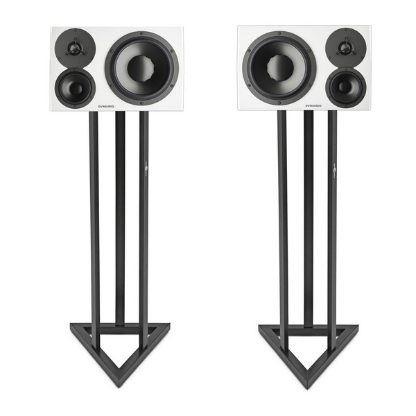 Dynaudio LYD 48 White with Stands, Pair - Bundle