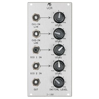 Analogue Systems RS-180 VCA Module - Main