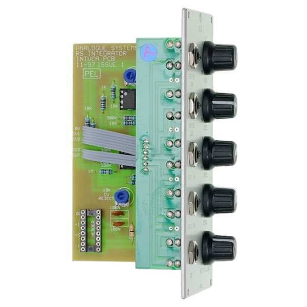 Analogue Systems RS-180 VCA Module - Side