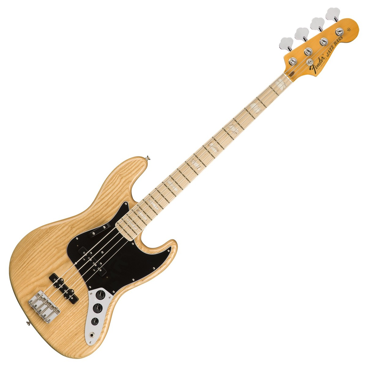fender american original 39 70s jazz bass mn natural at gear4music. Black Bedroom Furniture Sets. Home Design Ideas