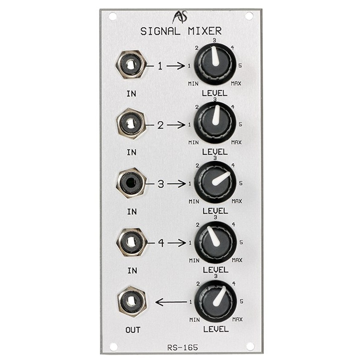 Analogue Systems Rs 165 Audio Mixer At Gear4musiccom Modular With Multiple Input Channels Main