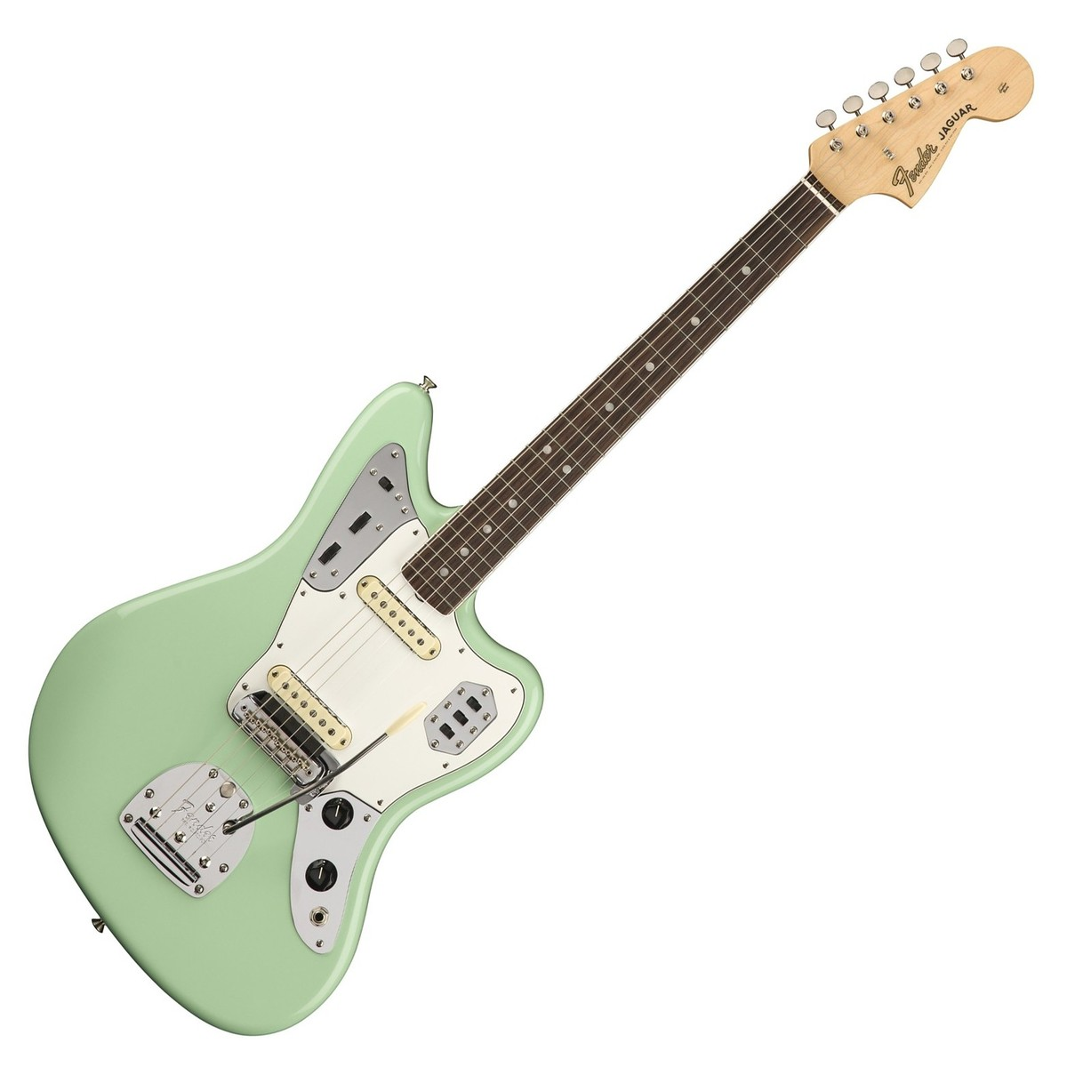 fender american original 39 60s jaguar rw surf green at gear4music. Black Bedroom Furniture Sets. Home Design Ideas