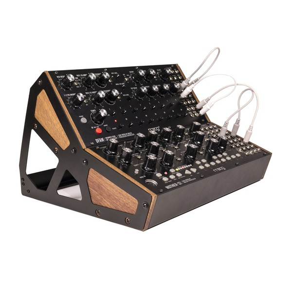 Moog DFAM & Moog Mother 32 With Moog 2-Tier Case Bundle - Main