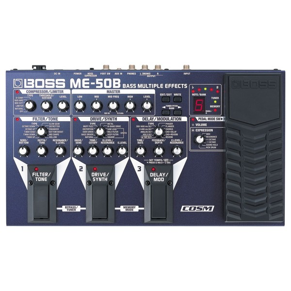 Boss ME-50B Bass Effects Processor