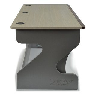 Zaor Studio Desk, Bleached Oak - Side
