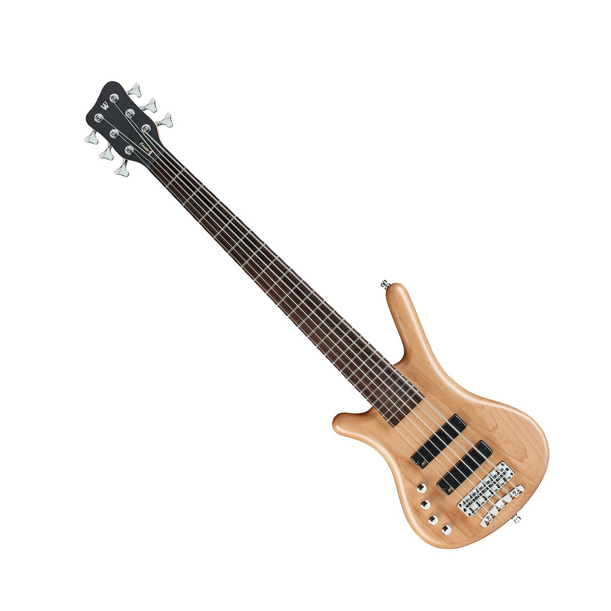 warwick rockbass corvette left handed 6 string bass natural satin box opened at gear4music. Black Bedroom Furniture Sets. Home Design Ideas