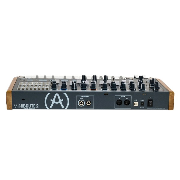 Arturia MiniBrute 2 Semi-Modular Analogue Synthesizer Back