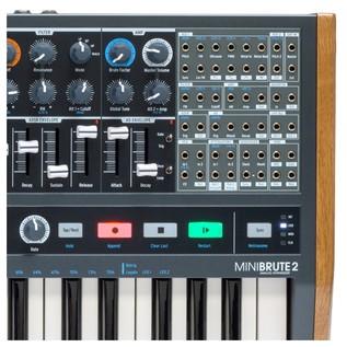 Arturia MiniBrute 2 Semi-Modular Analogue Synthesizer Close