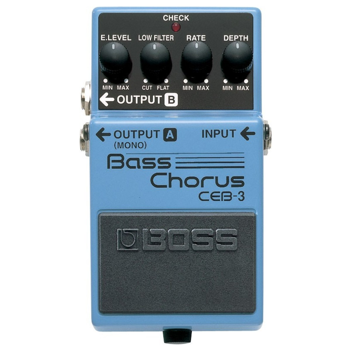 boss ceb 3 bass chorus effects pedal at gear4music. Black Bedroom Furniture Sets. Home Design Ideas