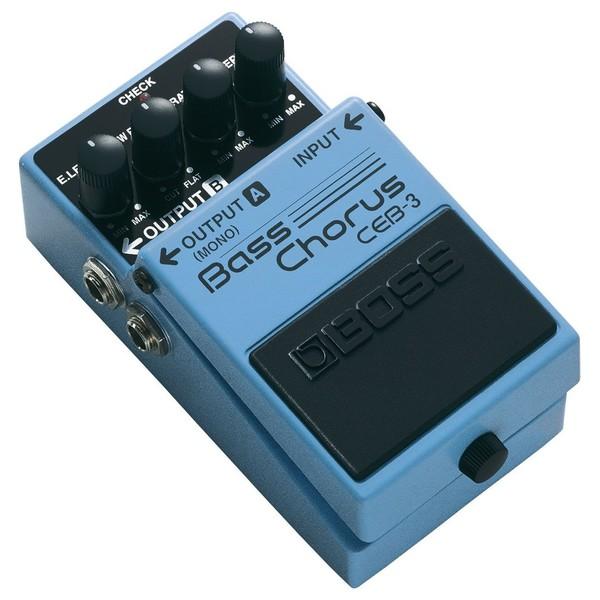 Boss CEB-3 Bass Chorus Effects Pedal Angle